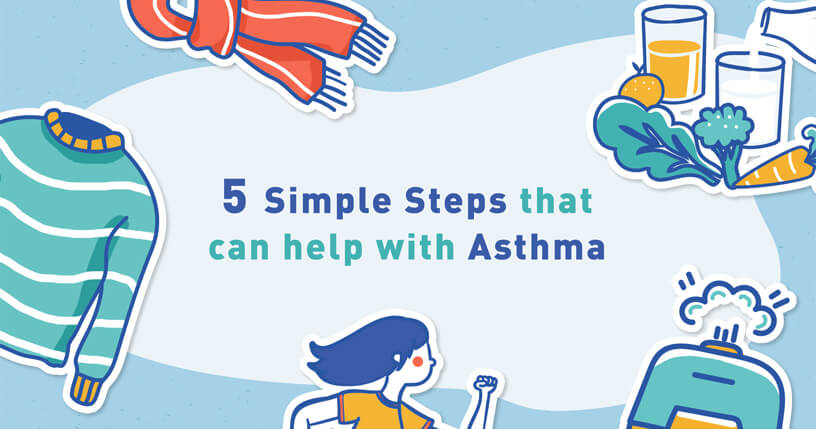 5 Simple Steps That Can Help with Asthma
